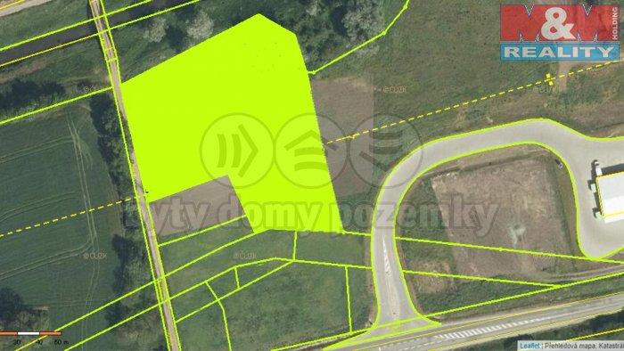Prodej, stavební pozemek, 5665 m2, Měnín, Brno - venkov