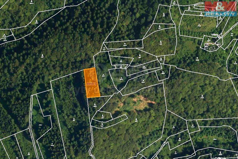 Prodej, les, 5001 m2, Halenkov