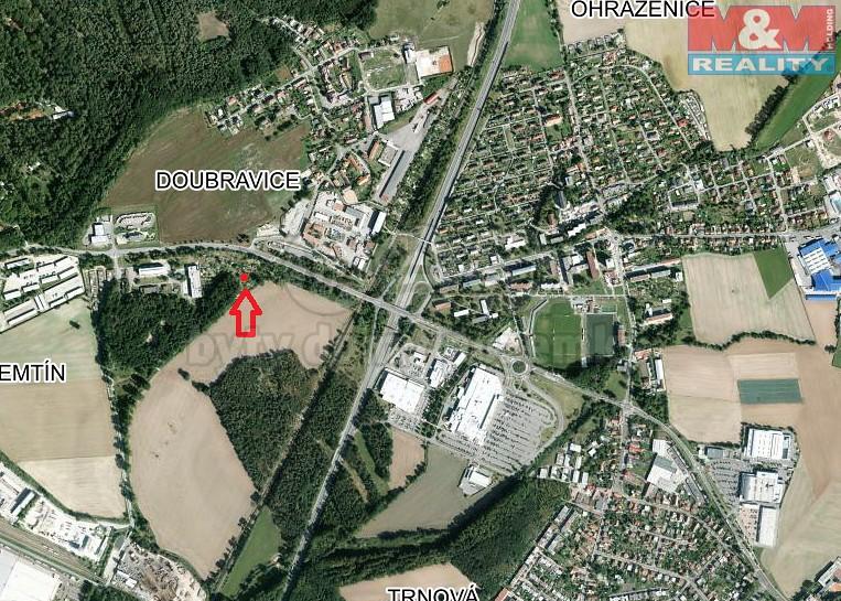 Prodej, zahrada, 413 m2, Pardubice - Semtín