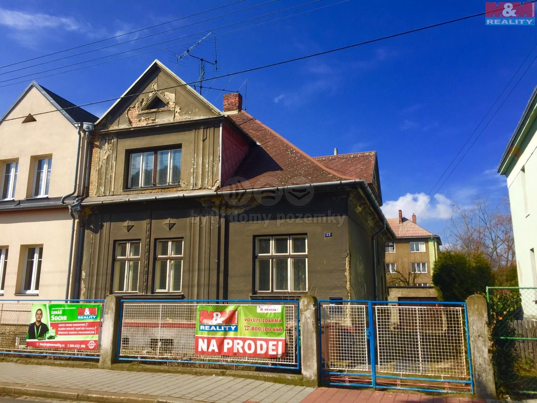 Prodej, rodinný dům 4+2, Ostrava - Vítkovice, ul. Kořenského