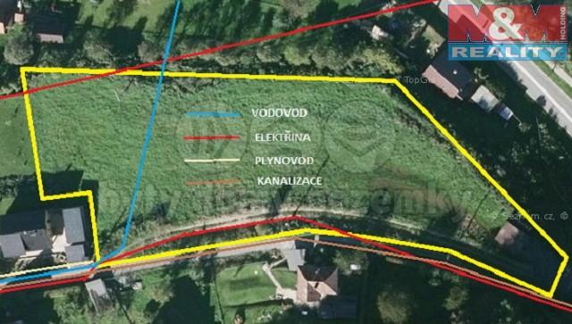 Prodej, stavební pozemek, 3518 m2 , Bystřička