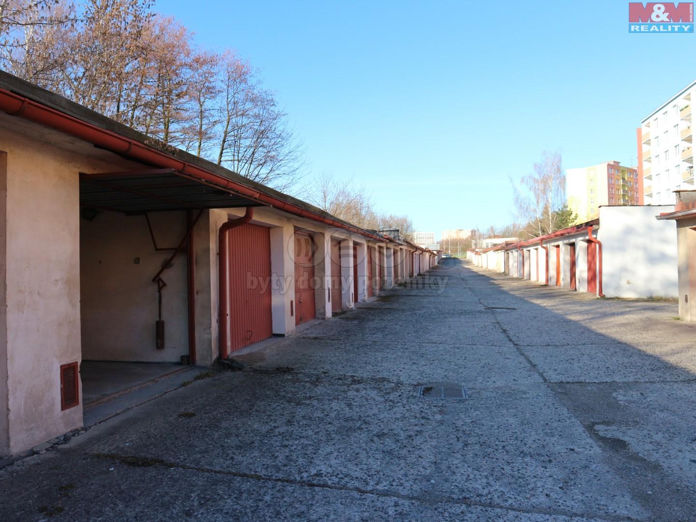 Prodej, garáž, 18 m2, OV, Chomutov, ul. Kamenná