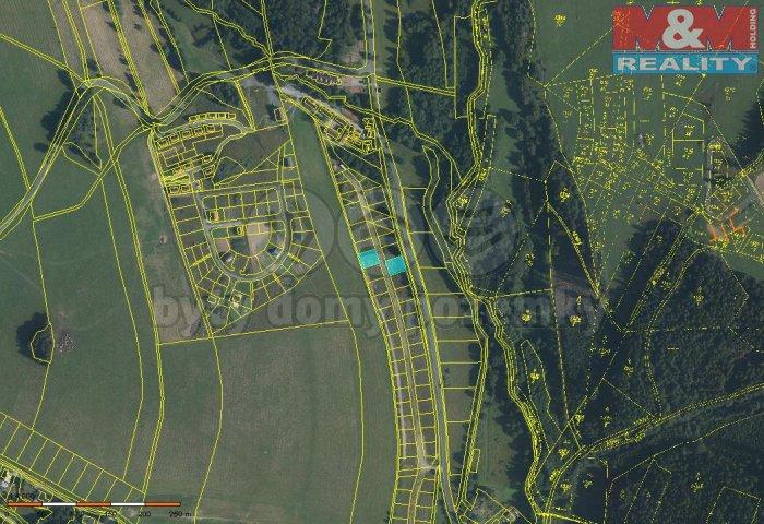 Prodej, pozemek, 423 m2, Dolní Moravice
