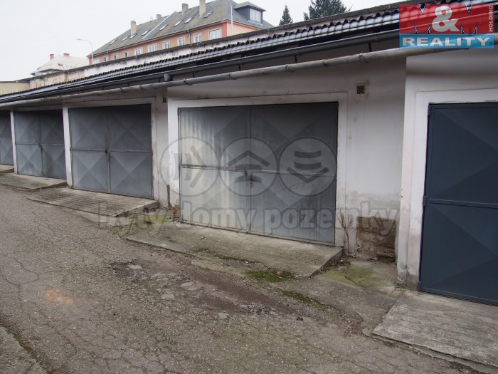 Prodej, garáž, 28 m2, Šternberk, ul. Nádražní