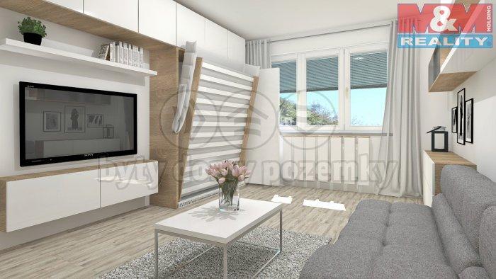Prodej, byt 1+kk, 41 m2, Český Těšín, ul. Hornická