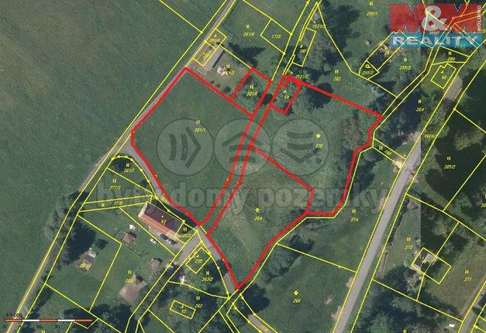 Prodej, pozemek, 9128 m2, Horní Řasnice