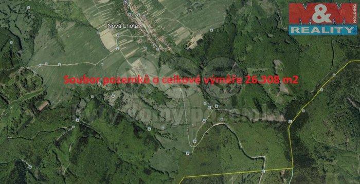 Prodej, pole, 26055 m2, Nová Lhota u Veselí nad Moravou