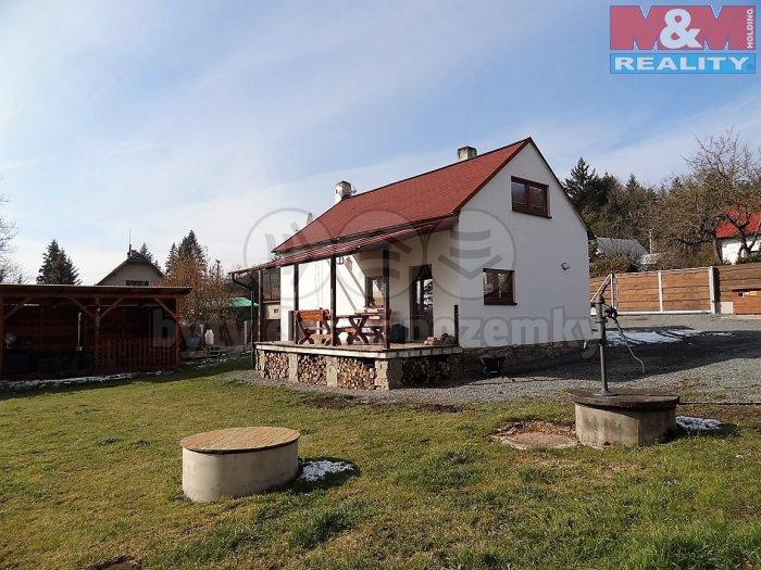 Prodej, zděný rekreační domek 3+1, 964 m2, Kytín, Chouzavá