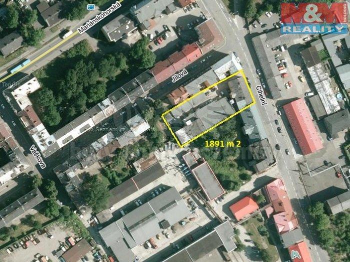 Prodej, obchodní objekt, 1891 m2, Ostrava, ul. Cihelní