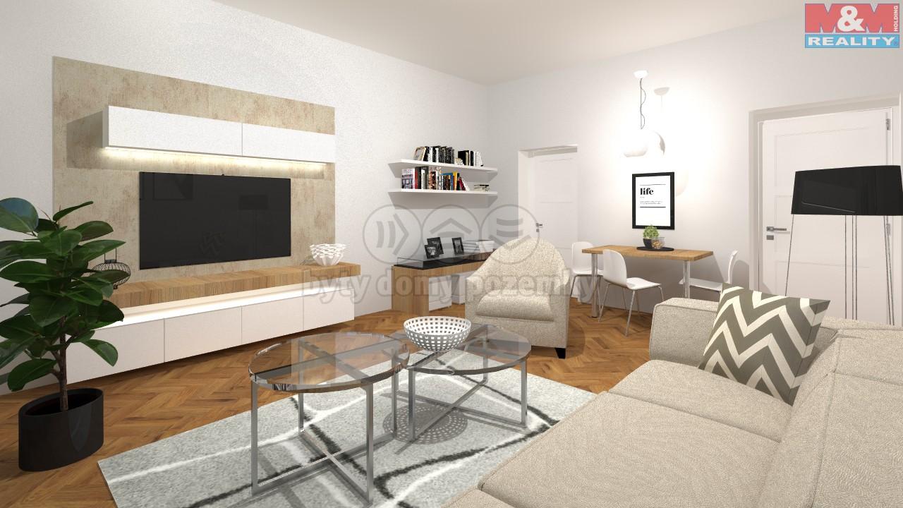 Prodej, byt 2+1, 59 m2, Praha 7 - Bubeneč, ul. Havanská