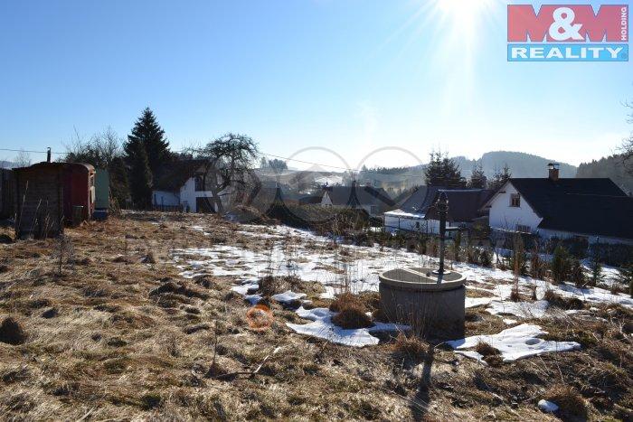 Prodej, stavební parcela, 1337 m2, Jílové u Držkova