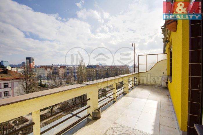 Prodej, byt 1+kk, 51 m2, Holešovice - Ortenovo náměstí
