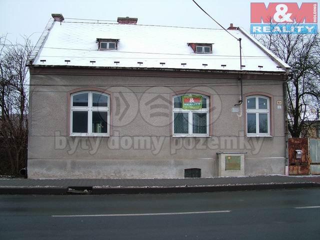 Prodej, rodinný dům 3+1, Litovel, ul. Svatoplukova