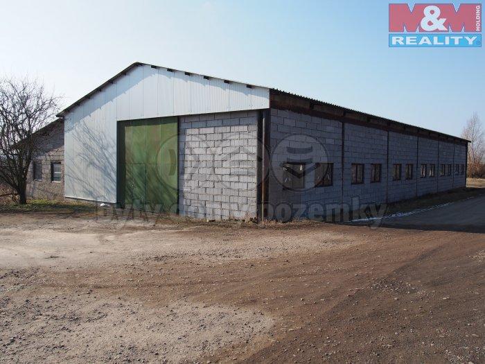 Pronájem, skladovací prostor, 495 m2, Holice - Podlesí