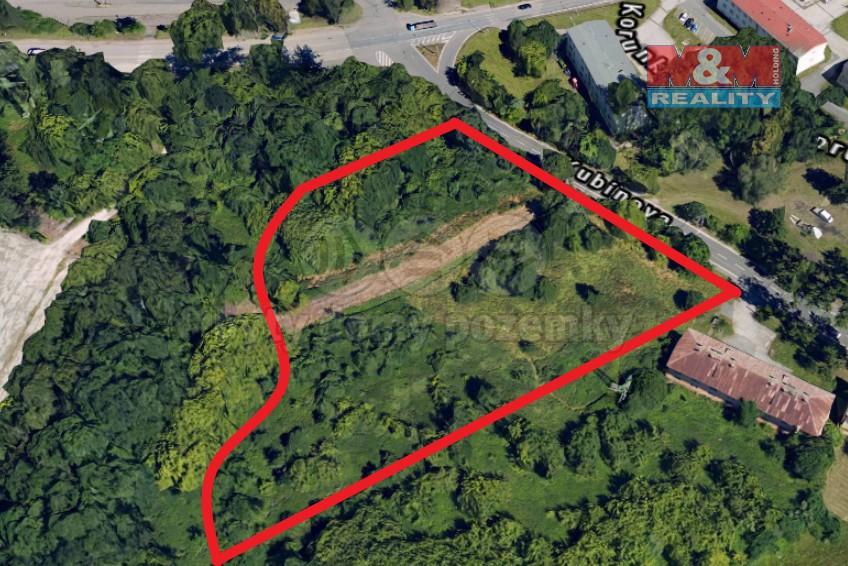 Prodej, pozemek, 10035 m2, Ostrava, ul. Kubínova