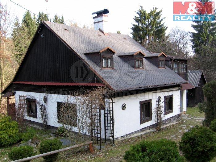 Prodej, chalupa a pozemek 9300 m2, Karlov u Paseky