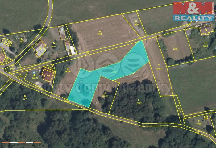 Prodej, pozemek, 2728 m2, Liberec, ul. Polední