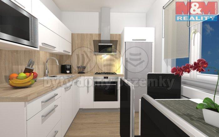 Prodej, byt 2+kk, Krnov