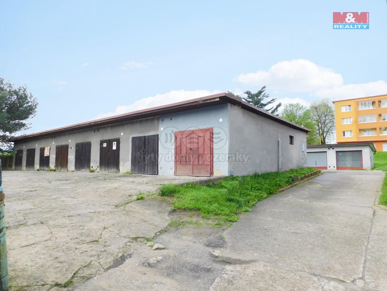 Prodej, garáž,18 m2, Žandov