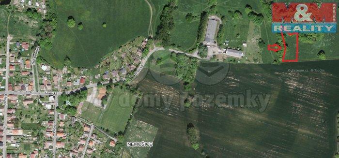 Prodej, pozemek, 3465 m2, Pardubice - Nemošice