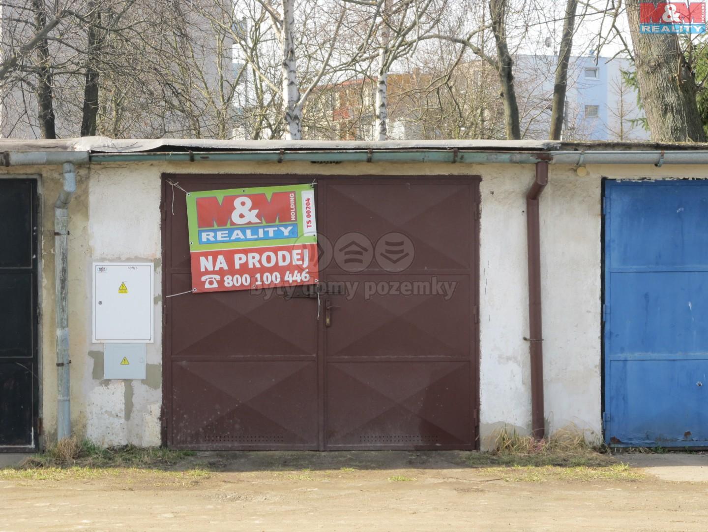 Prodej, garáž, OV, 21 m2, České Budějovice, ul. J. Plachty