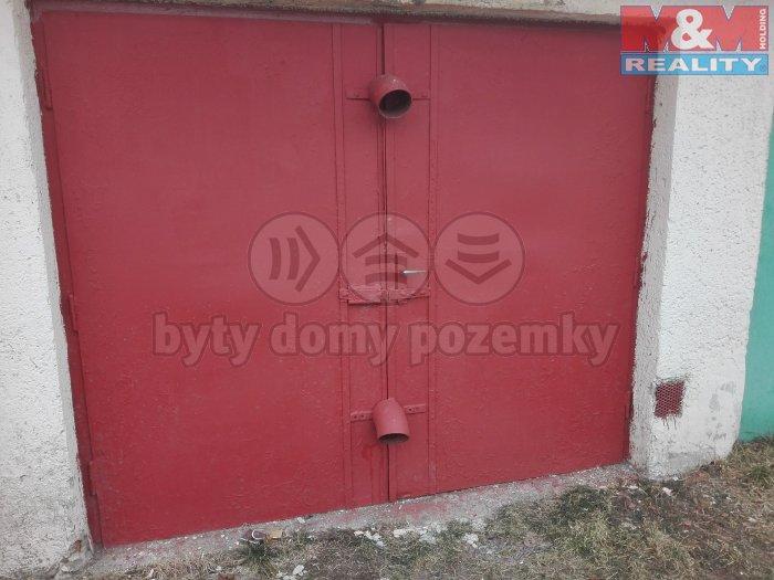 Prodej, garáž, 21 m2, Ostrava, ul. Dobrovského