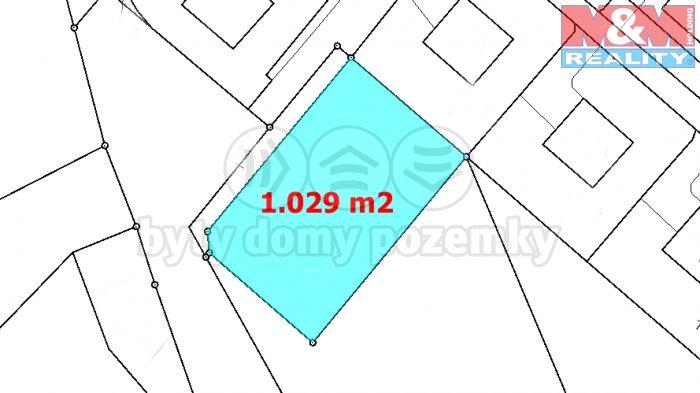 Prodej, stavební pozemek, 1029 m2, Chrastava, Textilanská