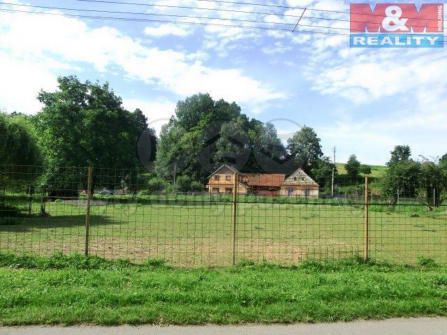 Prodej, stavební pozemek, 3500 m2, Hladké Životice