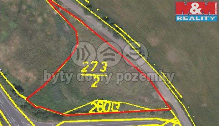 Prodej, stavební pozemek, 6235 m2, Most - Skršín