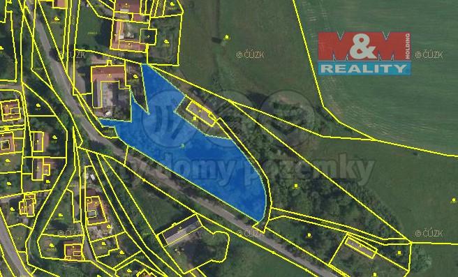 Prodej, parcela, 5468 m2, Čistá u Litomyšle