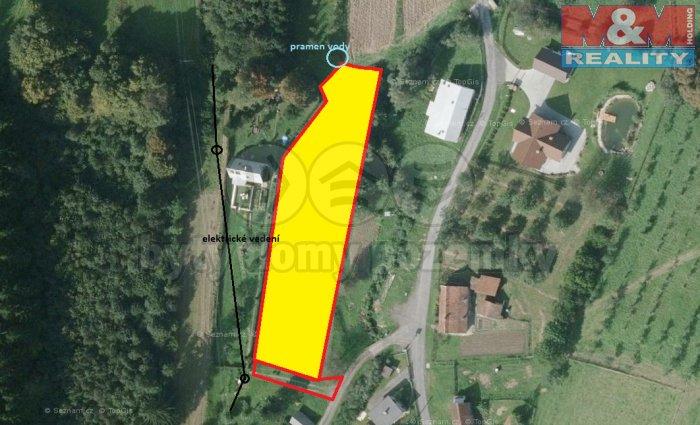Prodej, stavební pozemek, 2017 m2, Ratiboř