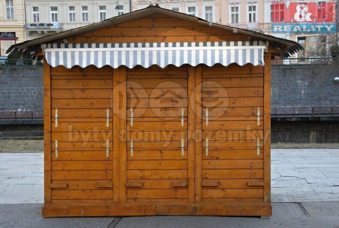 Prodej, montovaný stánek, 5 m2, Karlovy Vary