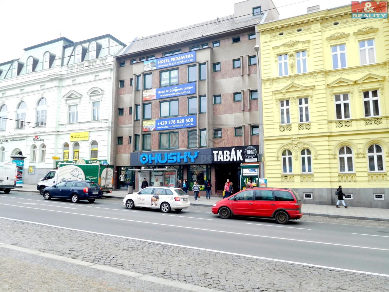 Pronájem, kancelářské prostory, 155,4m2, Plzeň, ul. Americká