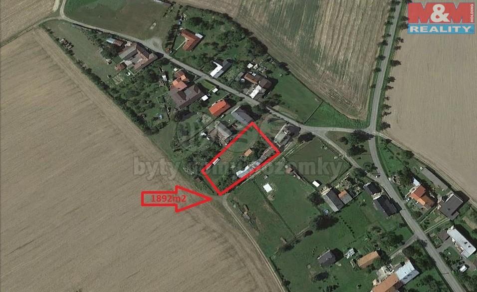 Prodej, pozemek, 1896 m2, Gručovice