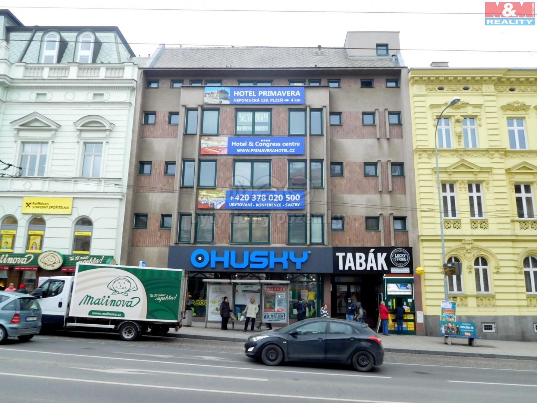 Pronájem, kancelářské prostory, 155,2m2, Plzeň, ul. Americká