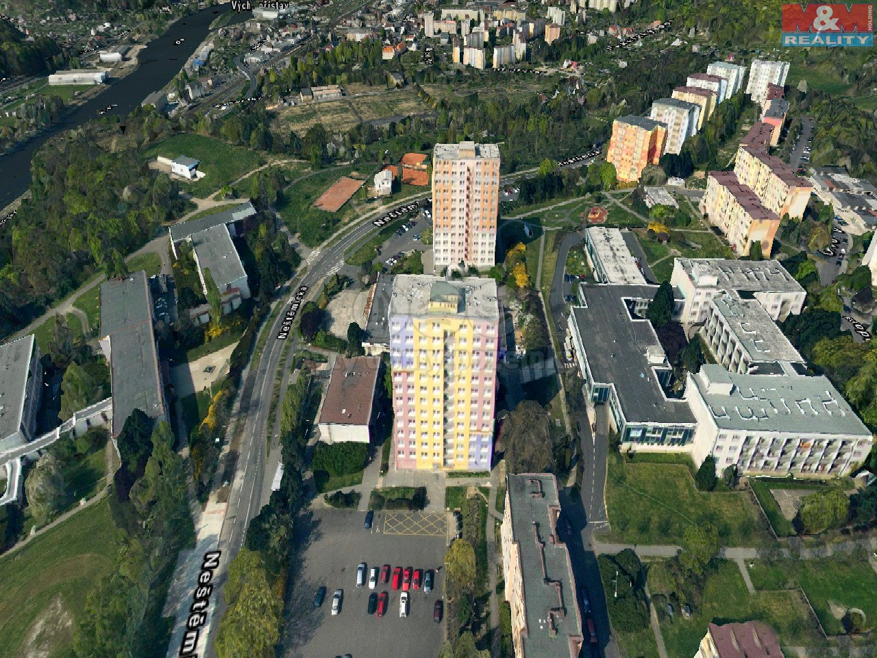 Prodej, byt 1+1, Ústí nad Labem, ul. Rozcestí