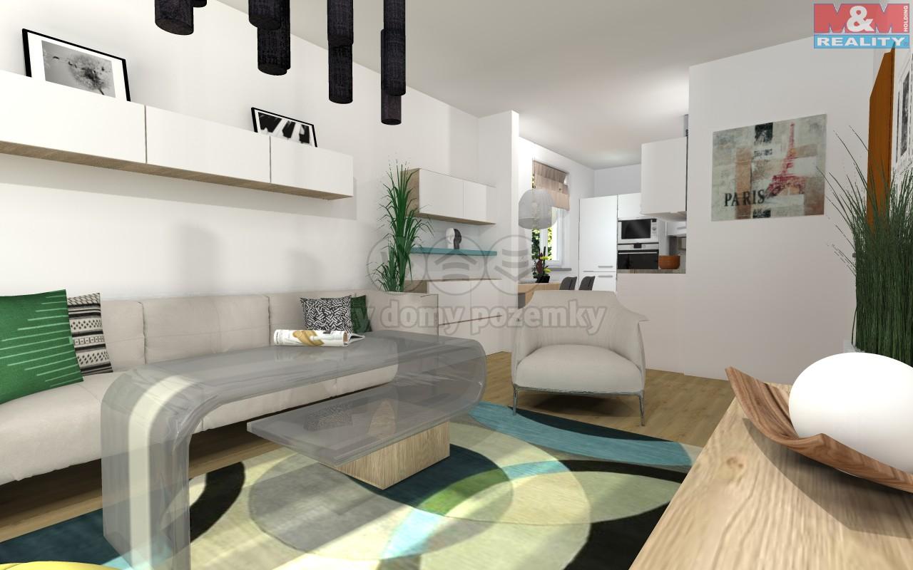 Prodej, byt 1+1, 41 m2, Moravská Ostrava, ul. Křižíkova