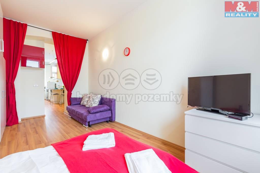 Pronájem, byt 1+1, 33 m2, Praha 3 - Žižkov