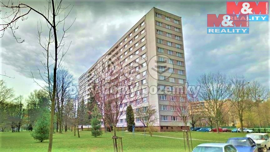 Pronájem, byt 1+1, 35 m2, Ostrava - Poruba, ul. M. Majerové