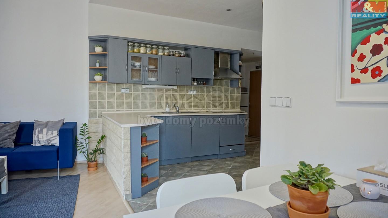 Prodej, byt 2+kk, 49 m2, OV, Praha - Libeň