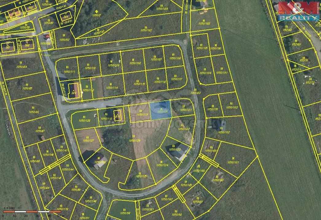 Prodej, pozemek, 272 m2, Dolní Moravice