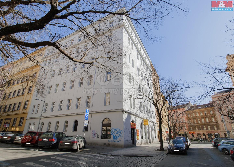 Prodej, byt 1+kk, 35 m2, Praha 2 - Vinohrady