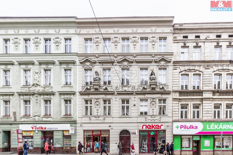 Pronájem, kancelářské prostory, 48 m2, Praha 5 - Smíchov