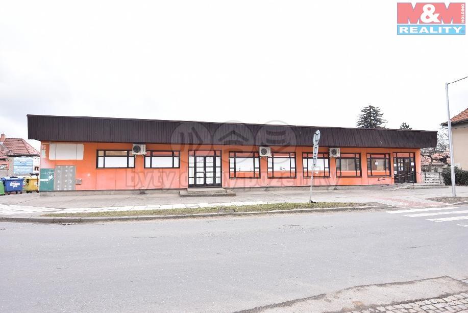 Prodej, komerční objekt, 970 m2, Milovice, ul. Mírová