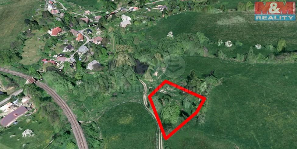 Prodej, stavební pozemek, 2278 m2, Zdislava