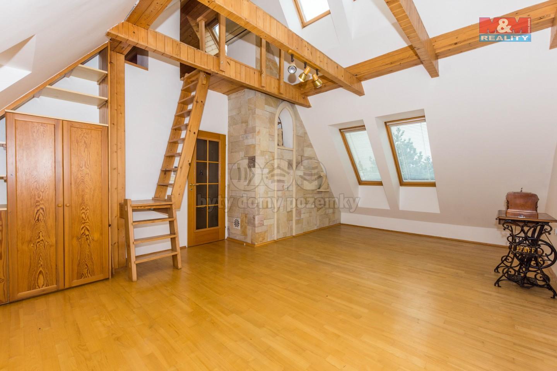 Prodej, rodinný dům, 707 m2, Praha, ul. Jordánská