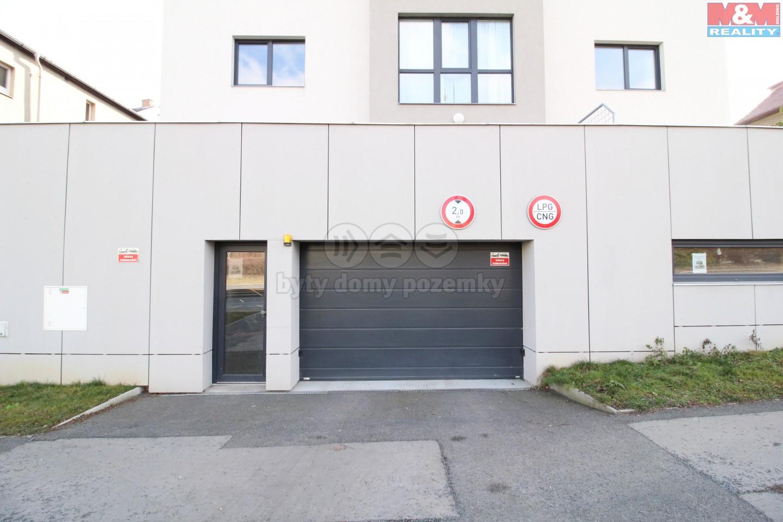 Prodej, garážové stání, 21 m2, Praha 5 - Stodůlky