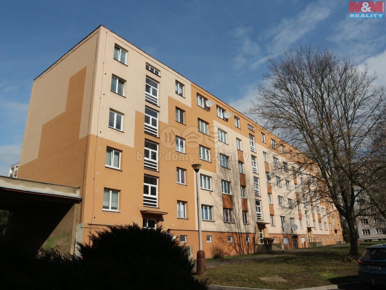Pronájem, byt 2+1, 51 m2, OV, Kadaň, ul. Chomutovská