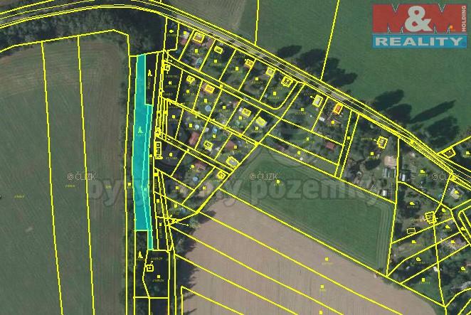 Prodej, pozemek 1409 m2, Vysoké Mýto