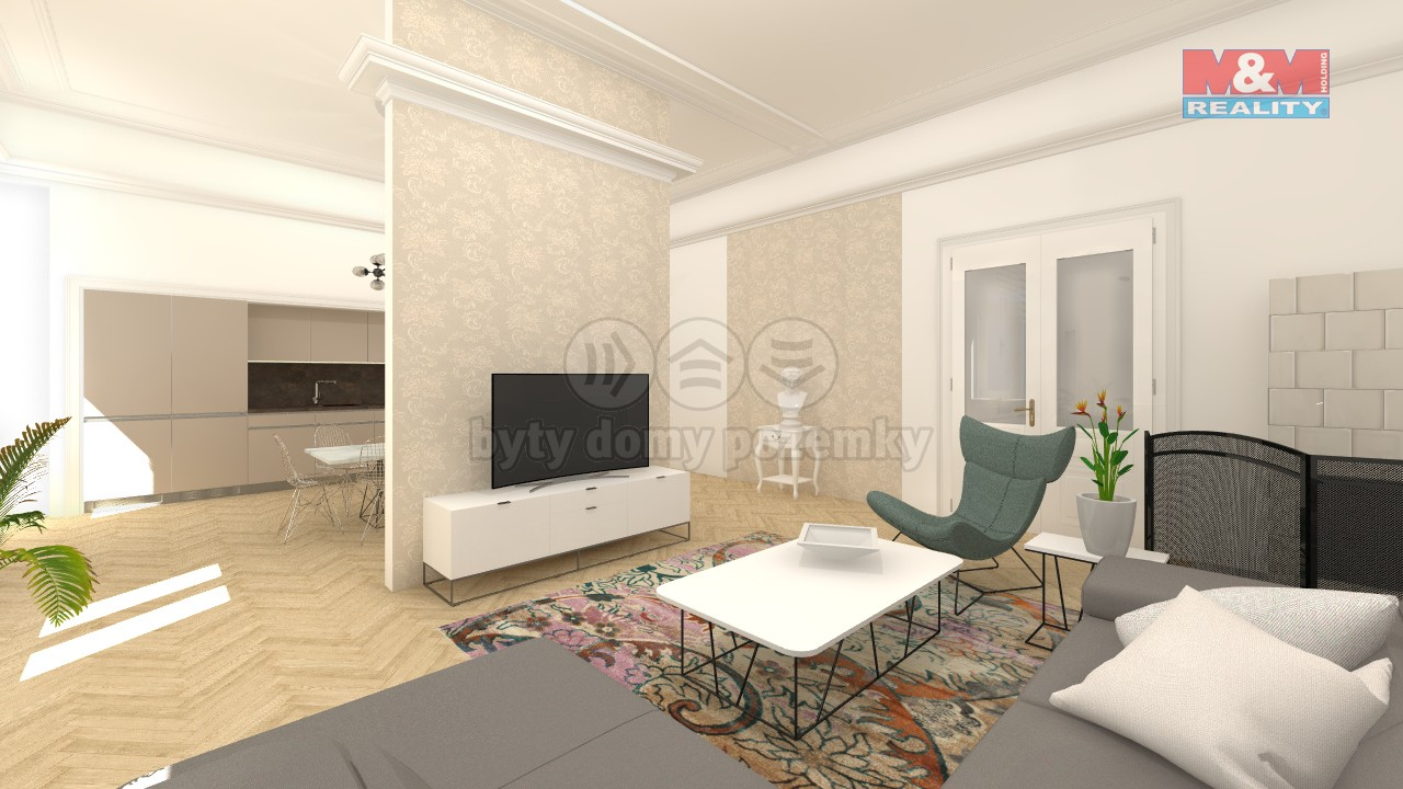 Prodej, byt 4+kk, 2 balkony,185 m2, Olomouc, ul. Palackého